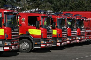 The previous government planned to control fire and rescue services from nine regional centres (Picture: Alamy)