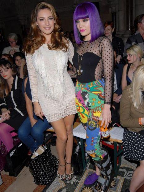 Kelly Brook, Jessie J, London Fashion Week 2011