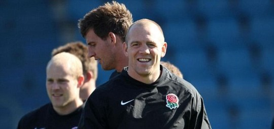 Mike Tindall, Rugby World Cup 2011