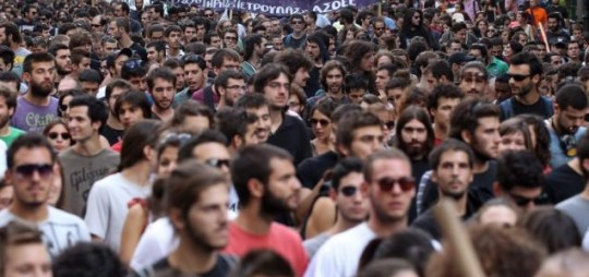 Student protests, Greece