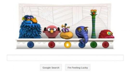 Jim Henson Google doodle