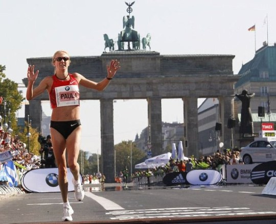 Paula Radcliffe third in Berlin marathon, London 2012 Olympics qualifying time