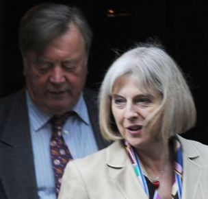 Kenneth Clarke and Theresa May