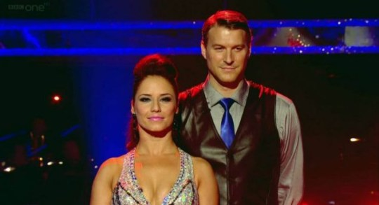 Dan Lobb and Katya Virshilas, Strictly Come Dancing