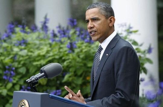US President Barack Obama Gaddafi dead
