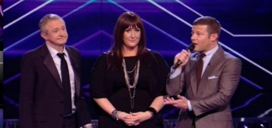 Sami Brookes left the X Factor after a poor performance during rock week. (Picture: ITV)