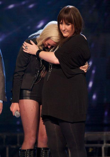 Sami Brookes Kitty Brucknell X Factor