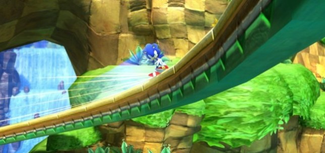 Sonic Generations - Green Hill Zone has never looked so good