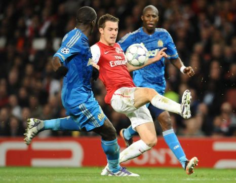 Arsenal v Marseille, Champions League