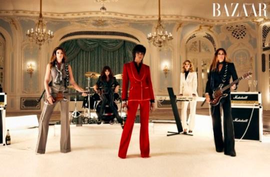 Harper's Bazaar, Duran Duran, Naomi Campbell, Cindy Crawford, Helena Christensen, Eva Herzigová