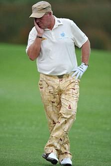 American golfer John Daly