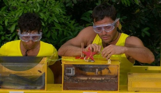Mark Wright in I'm A Celebrity