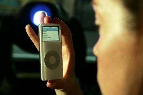 iPod nano Apple battery life