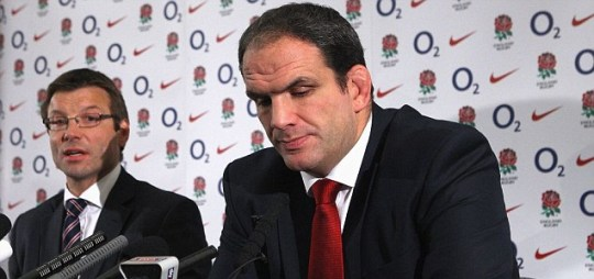 Martin Johnson, England manager