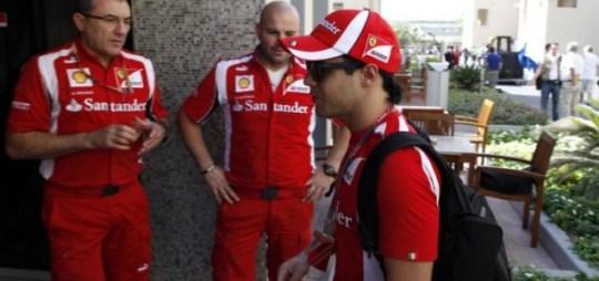 Felipe Massa Ferrari F1