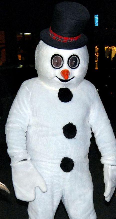 Frosty the Snowman assault