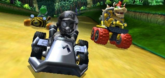 Mario Kart 7 - snakes alive!