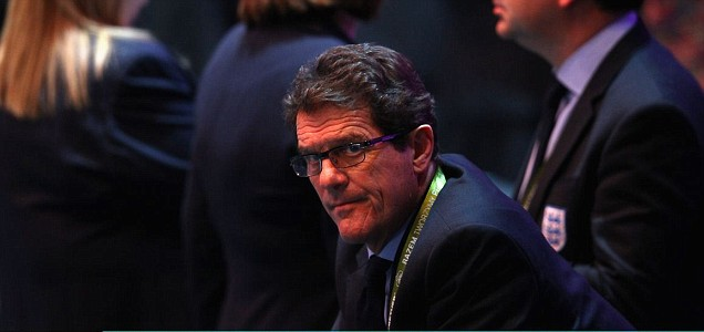 Fabio Capello, coach of England