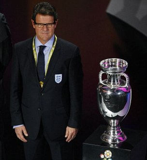 Fabio Capello Euro 2012 draw