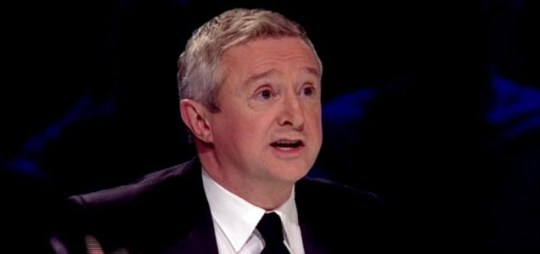 Louis Walsh delivers his ill-informed judges' comments on The X Factor. (Picture: ITV)