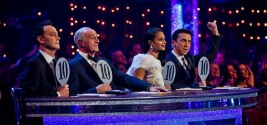 Saturday night's Strictly Come Dancing saw multiple perfect scores dished out by the judges. (Picture: PA)
