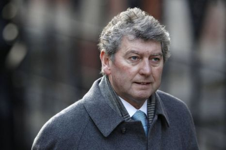 Former News of the World Editor Colin Myler arrives to give evidence at the Leveson Inquiry into media practices at the High Court in central London