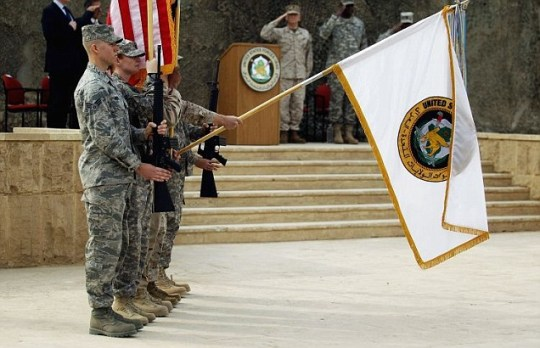 End of US troop occupation in Iraq