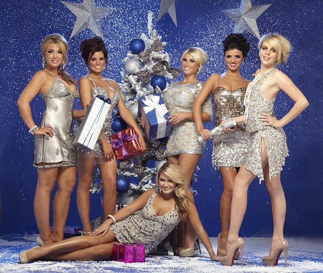 The TOWIE girls will be partaking in some festive fun as they gear up for a typical Essex Christmas
