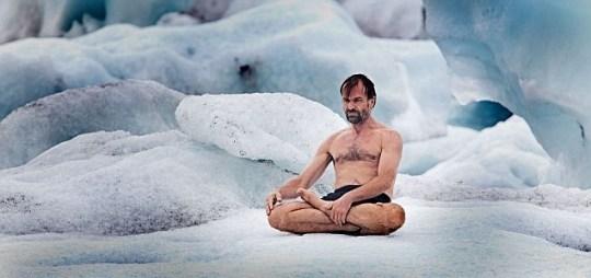 Wim Hof, sub-zero temperatures