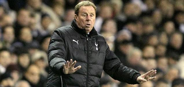 Tottenham's manager Harry Redknapp