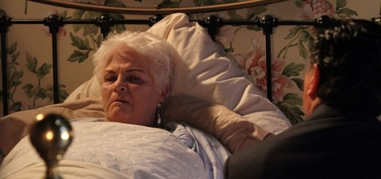 pat, dead, death, eastenders, cancer, fire, heart attack, butcher, evans