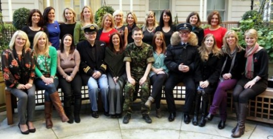 Chris Evans, Gareth Malone, Military Wives