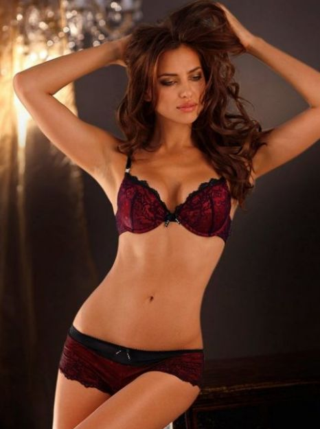 005339ed2 Irina Shayk shows off her model curves in sexy lingerie shoot ...