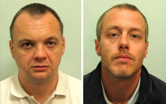 Gary Dobson (left) and David Norris, who have been found guilty of the murder of Stephen Lawrence