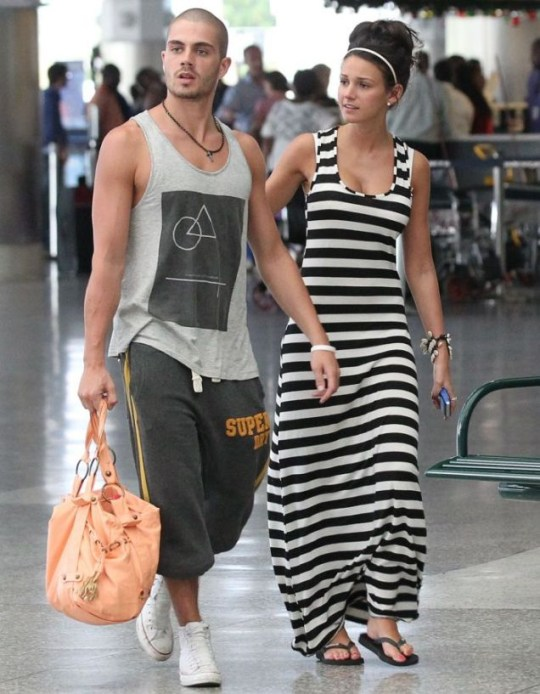 MICHELLE KEEGAN AND PARTNER MAX GEORGE