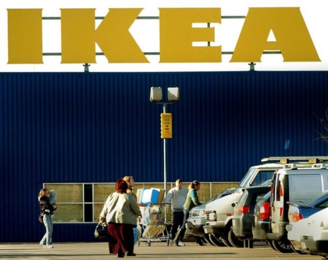 Shoppers outside the IKEA store in Nottingham on Wednesday February 8, 2006. The furniture giant has reacted to the death of 21-month-old Millie Carlin, who died when her head was caught in the frame of a children's bed, bought at the company's Nottingham store, at her home in Forest Town, Mansfield, Nottinghamshire last Wednesday. IKEA have today withdrawn the bed from sale. See PA story ACCIDENT Bed. PRESS ASSOCIATION photo. Photo credit should read: Rui Vieira/PA.