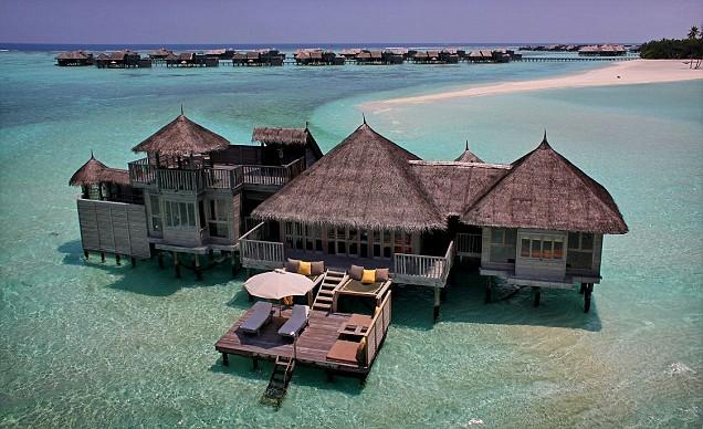 Soneva Gili resort in the Maldives
