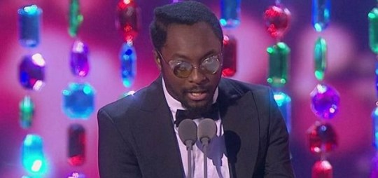 Will.i.am at The National Television Awards