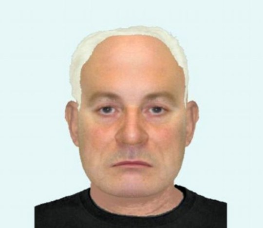 Suffolk Police e-fit of a man accused of helping a dangerous criminal escape prison custody (Picture: Suffolk Police)