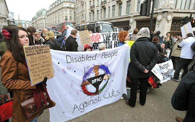 Demonstrators block Oxford Street