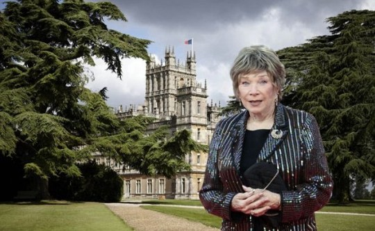 Shirley MacLaine is the first new edition to Downton Abbey series three to be confirmed (Picture: AFP/Getty)