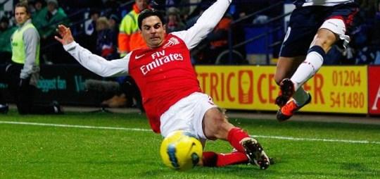 Arsenal's Mkel Arteta