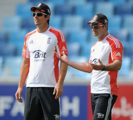Andrew Strauss, Alastair Cook