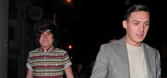 Frankie Cocozza and Kirk Norcross have been spending a lot of time together recently (Picture: Xposurephotos.com)