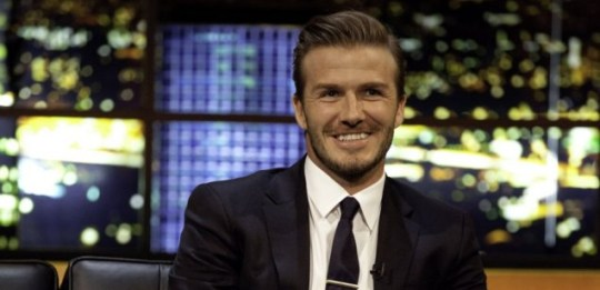 David Beckham proved a big draw for The Jonathan Ross Show (Picture: ITV)