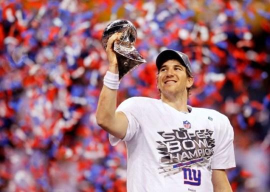Eli Manning, New York Giants, Super Bowl XLVI