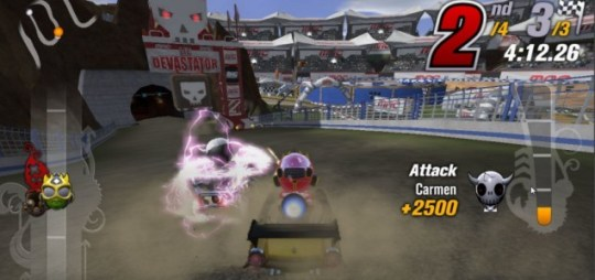 ModNation Racers: Road Trip (PSV) - suffer alone