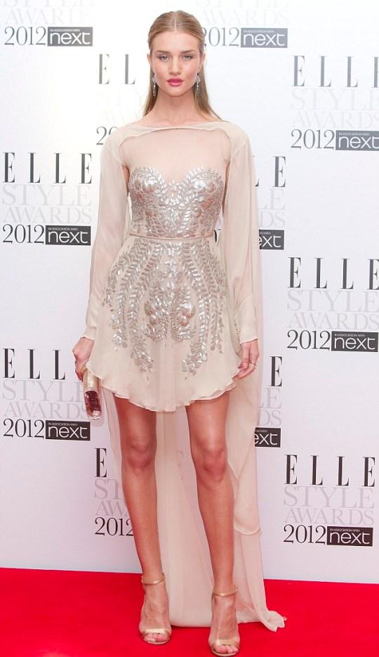 Elle Awards, rosie huntingdon-whiteley