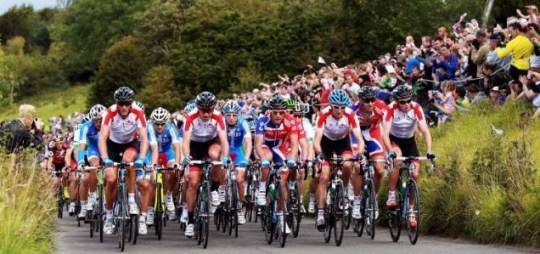 London Olympics 2012 road race cycling
