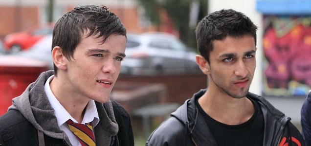 Waterloo Road and well known thespian George Sampson are back (Picture: BBC)